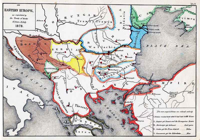 (South) Eastern Europe 1878